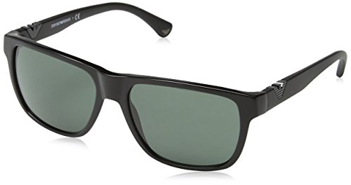 Emporio Armani EA4035 501771 Black EA4035 Wayfarer Sunglasses Lens Category 3 - Sunglasses Emporio