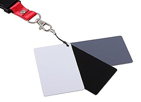Wen y Cheng 3 in1 18% Gris/Blanco/Negro Tarjeta de balance ...