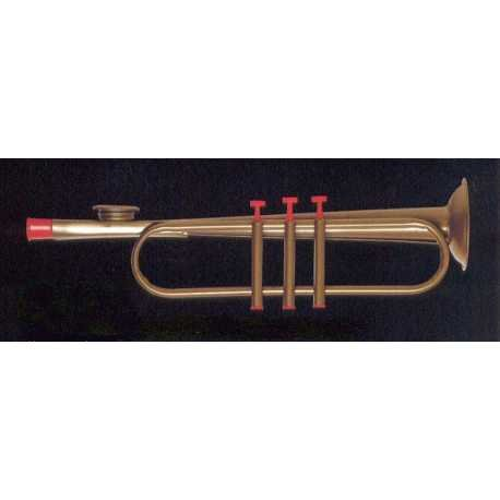 KAZOOS - The Original American (202) Metalico (Forma Trompeta) 27 Cm. by The Original American (Image #1)