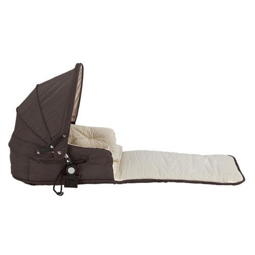 (Single Tri-Mode Husssh Bassinet Color: Hot Chocolate)