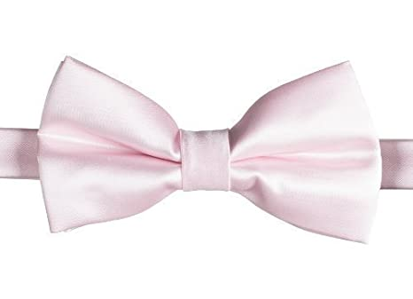 Pink Paisley of London Boys Elasticated Dickie Bow Tie