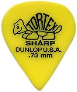 Dunlop Tortex Sharp Guitar Picks 1 Dozen .73 mm