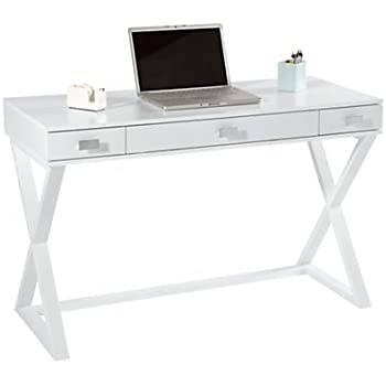 Amazon Com See Jane Work 174 Kate Writing Desk 30 Quot H X 47 1