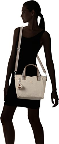 Womens Pastel Beige Beige Handle Amiel Top Kipling C Bag FUwCqvwR
