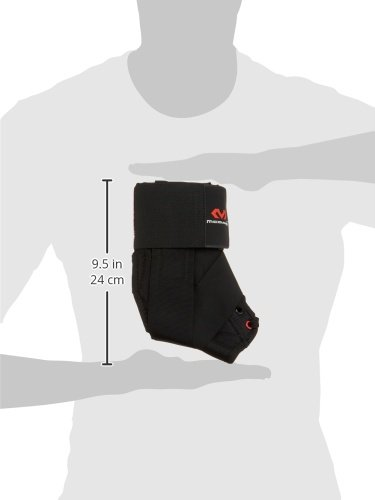 McDavid 195 Deluxe Ankle Brace with Strap (Black, Small) by McDavid (Image #12)