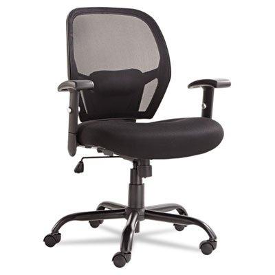 Merix450 Series Mesh Big/Tall Mid-Back Swivel/Tilt Chair, Bl