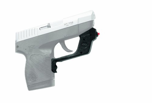 Crimson Trace LG-407 Laserguard Red Laser Sight for Taurus TCP Pistols (Taurus Pt 738 Tcp 380 6 Round Magazine)