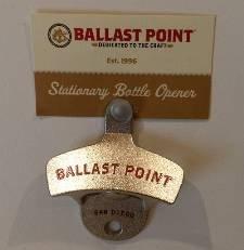 (Ballast Point Brewing - Wall Mount Bottle Opener)