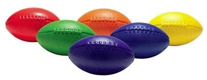 (FLAGHOUSE Squeezy Foam Football Rainbow Set)