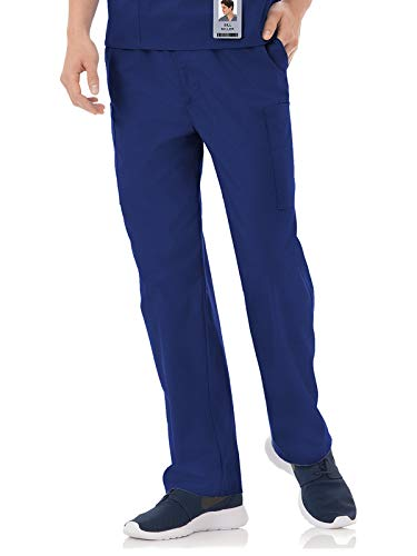 White Swan Fundamentals 14843 Unisex Five Pocket Scrub Pant New Navy L
