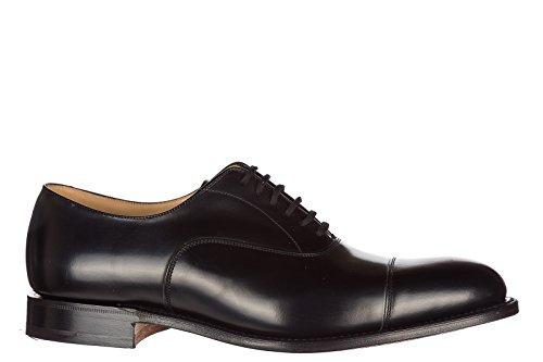 Churchs Chaussures Classiques À Lacets Pour Hommes New Noir Cuir Oxford