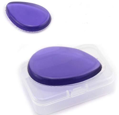 Maquillaje e hidratante aplicador en portafolios personal sanitario de viaje. Almohadilla de silicona hipoalergénica no...