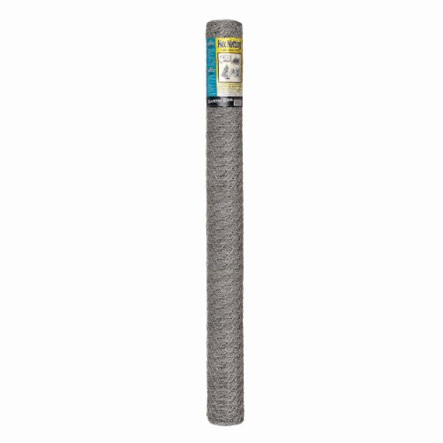 Origin Point 164850 20-Gauge Handyroll Galvanized Hex Netting, 50-Foot x 48-Inch With 1-Inch Openings