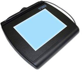 Topaz T-LBK766-BHSB-R 4x5 Backlit LCD Signature Capture Pad - (Certfied Renewed) (Topaz Sig Pad)