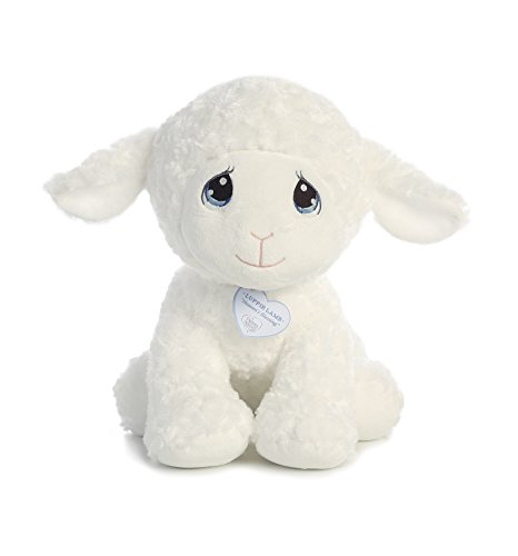 (Aurora World Precious Moments Luffie Lamb Toy Plush, 15