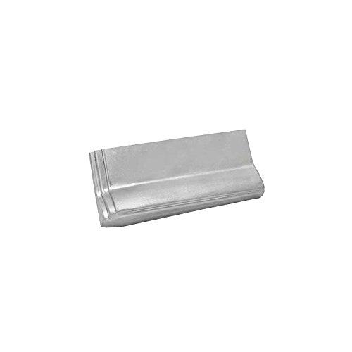 MACs Auto Parts 32-67264 Rear Quarter Patch Panel - Left - Top Quality - Die Stamped- Long Door Type - Tudor Sedan & Club Coupe
