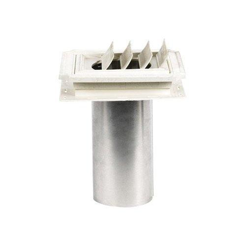 - Builders Edge 140137079117 Vent, Bright White