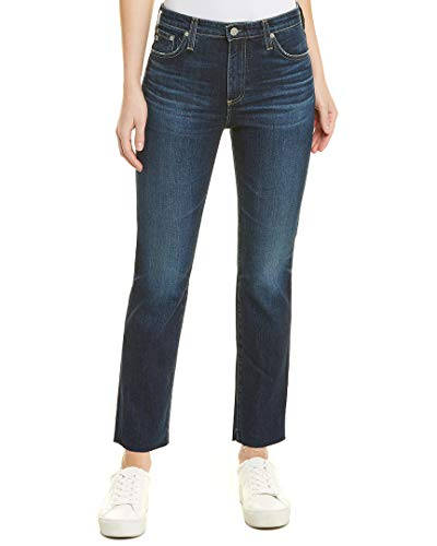 AG Adriano Goldschmied Women's The Isabelle High Rise Straight Jean, 9 Years - Amendment, 29 ()