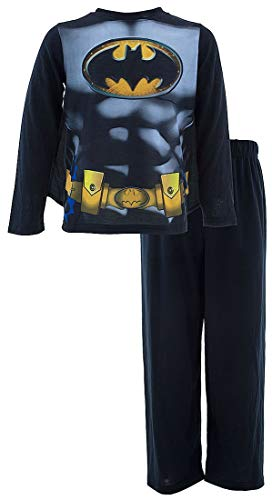 DC Comics Little Boys' Black Batman with Cape -