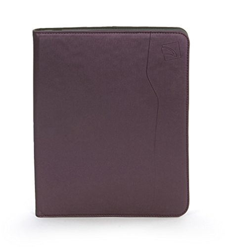 Tucano Book Style 3-Position Multi-Functional Smart Folio with Hi-Tech Metal Brush Exterior for iPad 2 and iPad 3 - Hitech Skins