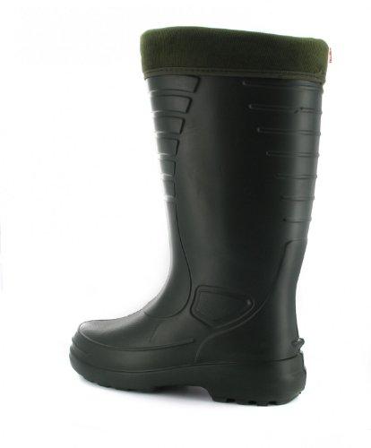 CROGIOLO BOCK - Heiko - Uomo EVA - stivali di gomma - Nero scarpe in taglie grandi