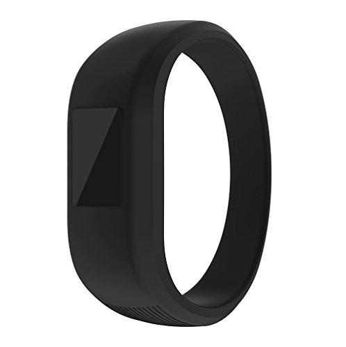 ZSZCXD Garmin Vivofit Jr/Vivofit Jr.2 Bands, Soft Silicon Wristband Strap Replacement Bands for Garmin Vivofit Jr/Vivofit Jr.2, Small and Large(for Kids) (Black, Large: 6.6)