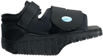 Complete Medical Heel Wedge Healing Shoe, Medium, 0.94 Pound from Complete Medical