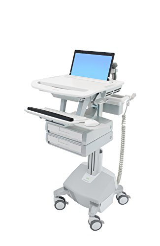 Ergotron SV44-1122-1 STYLEVIEW Laptop CART Life Powered ()