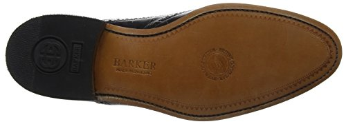 BARKER Hampstead, Scarpe Stringate Derby Uomo Black (Black Polished)
