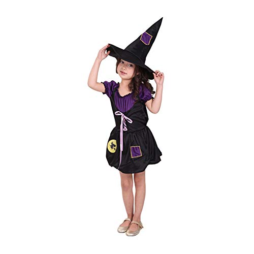 Yaxuan Spellbound Witch Costume Pretty Girls' Halloween/Carnival / Children's Day Festival/Holiday Halloween -