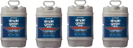 Simple Green 13405 Extreme Aircraft and Precision Cleaner, 5 Gallon Bottle (4-(Pack))