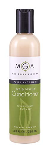 Tea Tree Medicated Shampoo - Scalp Rescue Conditioner, 8.8 fl oz, with Tea Tree For Healthy & Lustrous Hair. Reduces Itchy Scalp, Dandruff & Frizz. No Parabens, Sulfates, PEG or Silicone. Natural Herbal Scent For All Hair Types