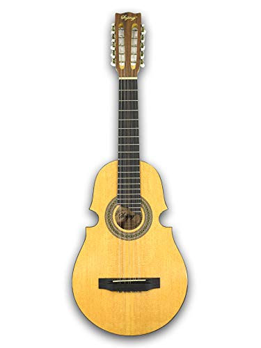 Photo 10 String Acoustic Puerto Rican Cuatro Guitar, W/3 Band EQ