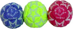 Stellar Staller Glow-in-the-Dark Footbag 3-Pack by Dirtbag