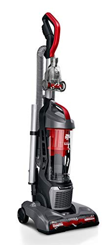 Dirt Devil Endura Max Vacuum Cleaner, with No Loss of Suction, UD70174B, Red
