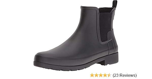 cdb638ed804 Amazon.com | Hunter Women's Original Refined Chelsea Boots | Rain ...