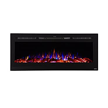 Touchstone Sideline Recessed Mounted Electric Fireplaces (50 Inches)