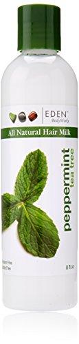 Eden BodyWorks Peppermint Tea Tree Hair Milk, 8 (Peppermint Detangler)