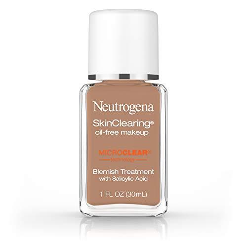 Neutrogena Skinclearing Makeup, 135 Chestnut, 1 Fl. Oz.