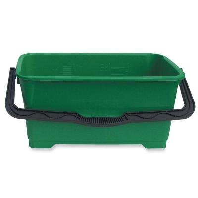Pro Bucket 6 gal Plastic Green by Unger