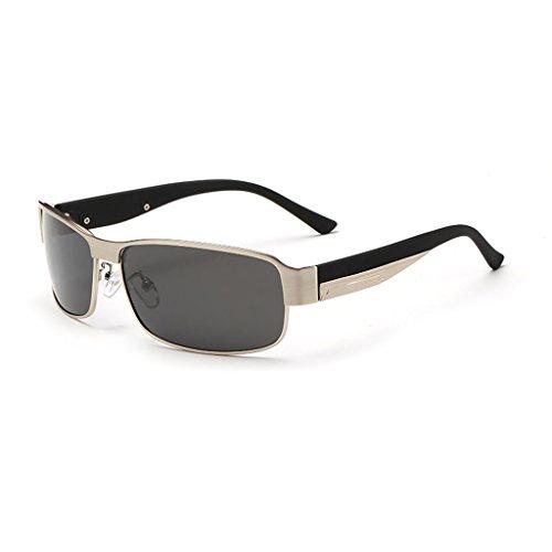 Gafas Hombre Hombres Que Sol Espejo LBY Color de Revestidas Sol del Conducen Sol Brass Marco Gafas El De De Los Polarizadas Metálico para Oro Gafas De qqOwBAU