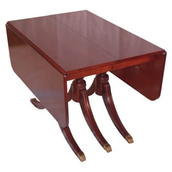 Duncan Phyfe Round Table With Drawer.Build Your Own Duncan Phyfe Dining Table Plan American Furniture