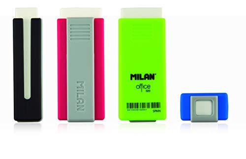 GOMA MILAN 320 PLASTICO OFFICE CON FUNDA PROTECTORA by Milan (Image #2)