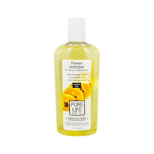 Pure Life Soap Co Shampoo Papaya - 14.9 Ounce, 1 Pack