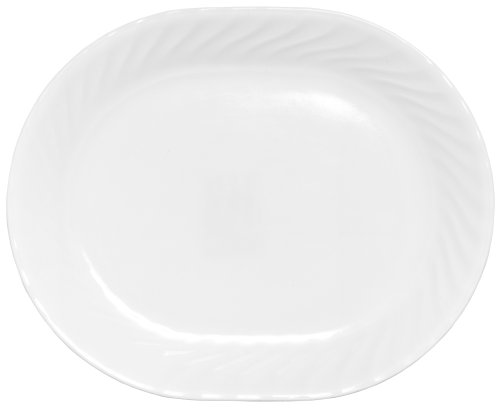(CORELLE 6017646 885207791896 Impressions 12-1/4-Inch Serving Platter, Enhancements, 12-1/4