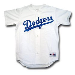 Los Angeles Dodgers Replica MLB Baseball Jersey - Home XX Large