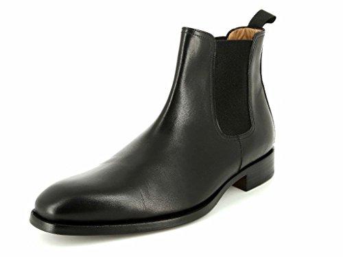 44 Black 5773 Gr BOTTIER 5 amp; PROFESSION Chelsea Herren Boots Stiefel qwH14UPC