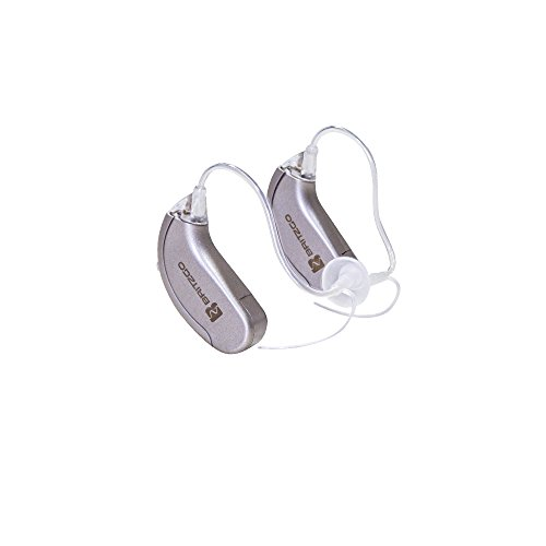Britzgo Premium Hearing Amplifiers With Digital Noise Cancelling   2 Pack Bha 702S   1 Year Warranty