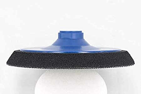 Plateau de poncage moyen pour Meuleuse dangle avec Filetage M14 pour disques abrasifs Velcro Plateau de polissage /Ø 50 mm