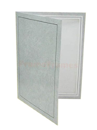 94de17a11f98 Amazon.com - PF-20 FOLDER GRAY 5x7 Photo Cards - Single Frames